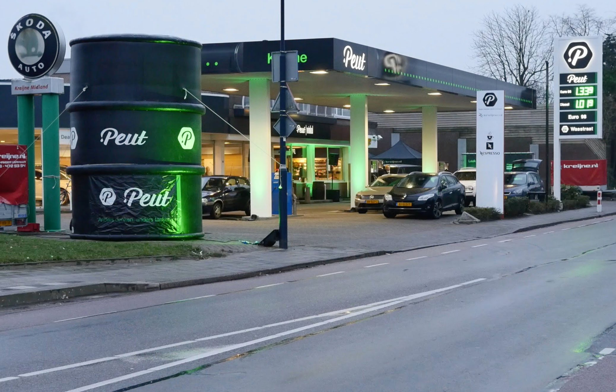 Tankstation Peut in Hoogland
